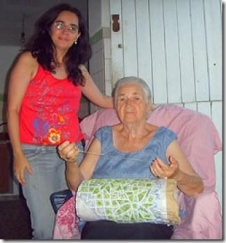 Valorizar Dona Odete, mestre de renda renascença com Clébia Nóbrega