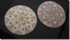 As mandalas em cerâmica de Grazyela Lima