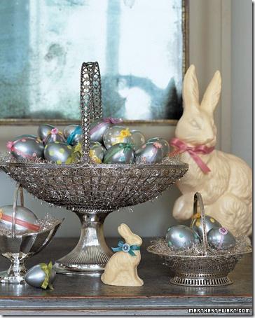 A magia da chegada do coelho da páscoa