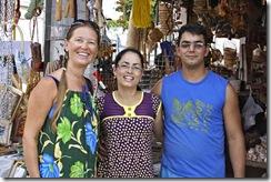 Cris Turek, Rita e Françoilson da Barraca da Rita