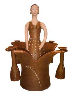Sabor de Mulher, cerâmica terracota vencedora do Salão de Cerâmica em 2006