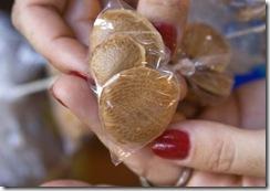 Semente de sucupira para uso medicinal, e artesanal também