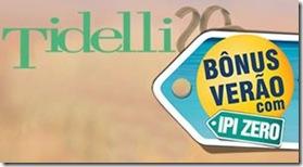 Banner Tidelli promoção verão