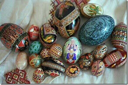 Pysanky são os ovos poloneses decorados