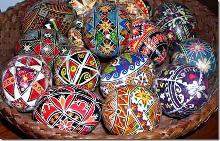 Pysanky, ovos decorados tradicionais