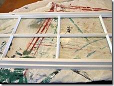 Retire as fitas dos vidros