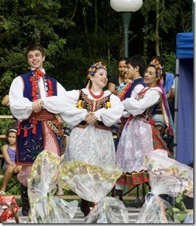 Danças tradicionais polonesas