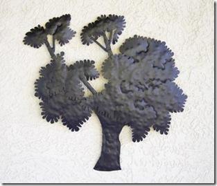 Painel de ferro árvore de Lázaro Fortes