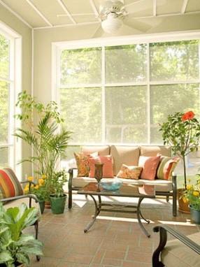 Jardim de Inverno com janelões