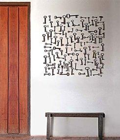 Muitas chaves de coleção em composição equilibrada