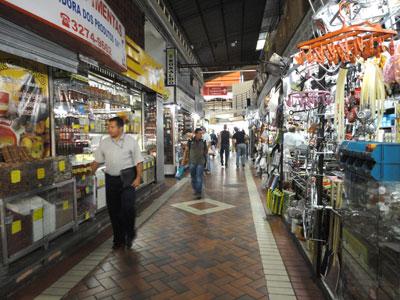 Corredores do Mercado Municipal de Belo Horizonte