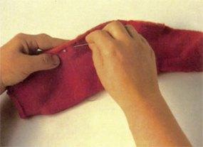 Costure a barbatana