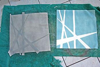 Depois de seco retire o papel