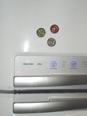 Enfeite a sua geladeira com os ímãs