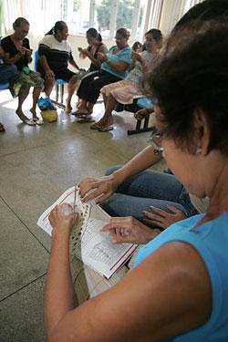 Curso de Crochê no Sesc Lageado