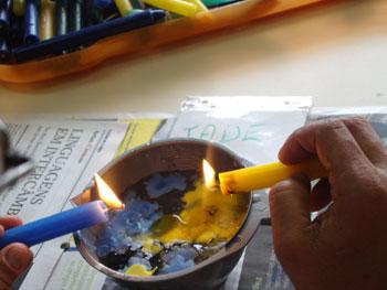 Trabalhando a polaridade entre água e fogo