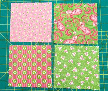 Escolha os tecidos para montar seu patchwork