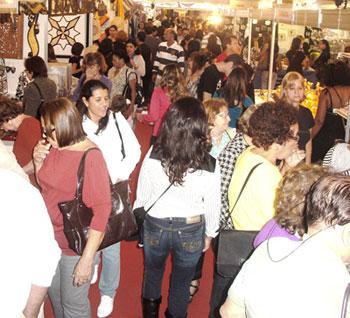 Feira de artesanato internacional Feincartes, em Juazeiro do Norte
