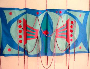 Trabalho de Zoravia Betiol para a exposição TENET
