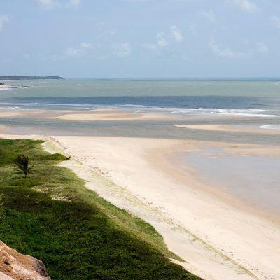 Mirante na Praia de Gramame, passeando de buggy pelo litoral sul