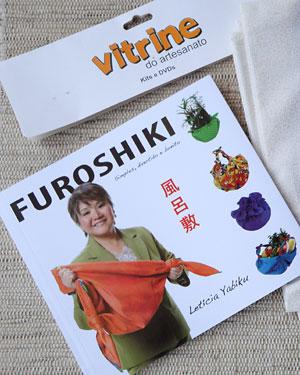 Livro de Furoshiki do site Vitrine do Artesanato