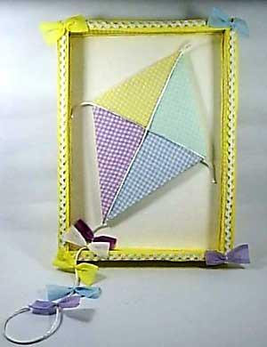 Decoração de paredes de quarto infantil com quadro caixa