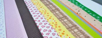 Estampas nas mais diversas cores em placas de EVA