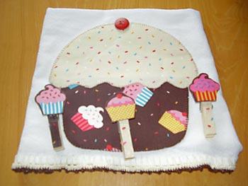 Cupcake é o tema desse patch apliqué