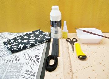 Anote a lista de materiais para fazer sua capa