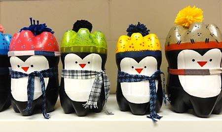 Faça uma coleção inteira de pinguins