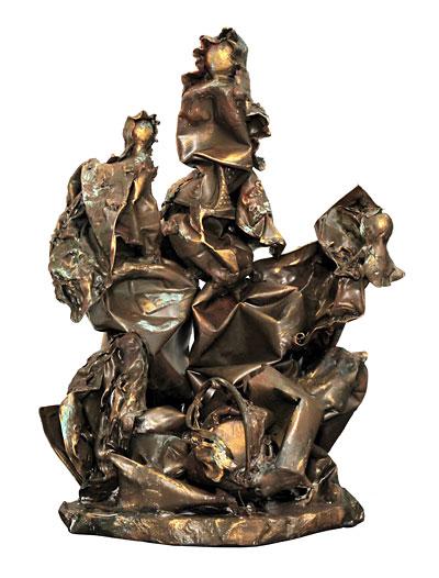 Escultura em plástico modelado, Elia Weschenfelder