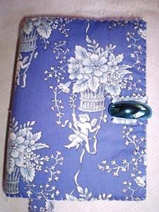 Capa para agenda em tecido ou feltro