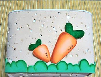 Cole as cenouras maiores