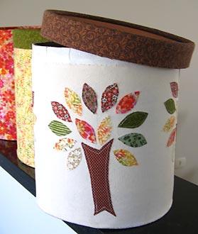 Tambores de argamassa reciclados em embalagens