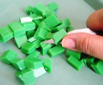 Pique a glicerina verde