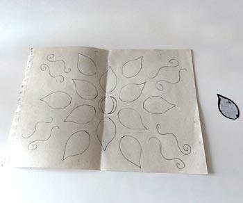 Programe um desenho no papel