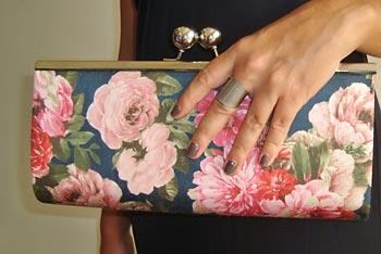 Bolsa carteira de mão para presente
