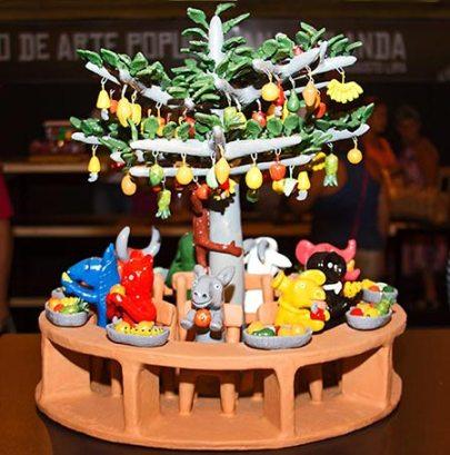 Escultura A Farra dos Bichos Fenearte 2013