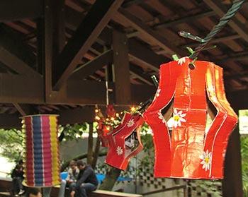 Lanterninhas de festa junina