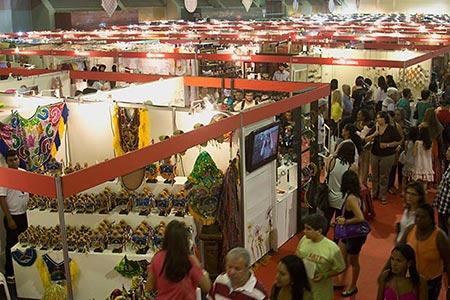 800 espaços de exposição na Fenearte