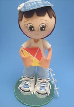 Boneco em EVA para festas infantis