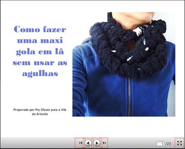 Clique para iniciar os slides da Maxi Gola