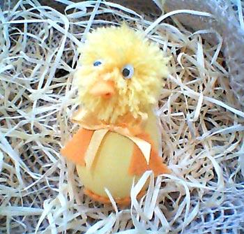 Casca de ovo vira lembrancinha de festa infantil