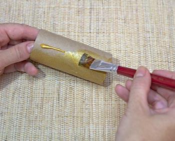 Pinte seus rolinhos de papel