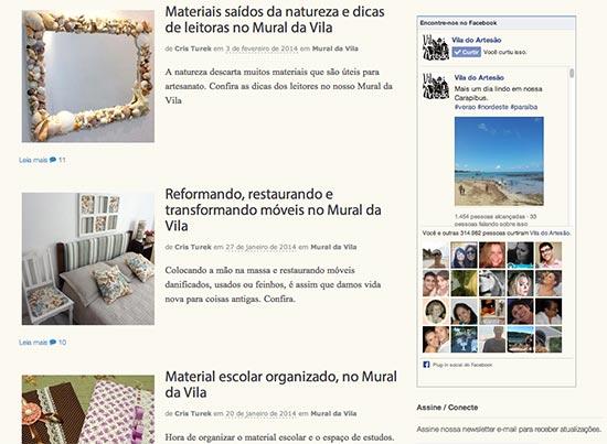 Posts no Mural da Vila
