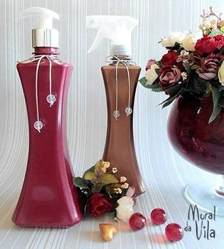 Produtos perfumados para a mamãe