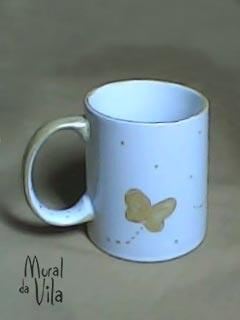 Porcelana com pintura artesanal
