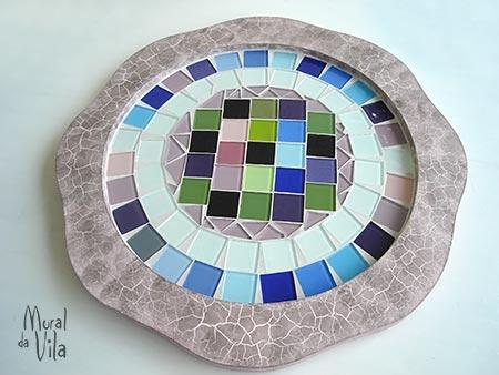 Mosaicos e reciclagem nos trabalhos do Mural de hoje