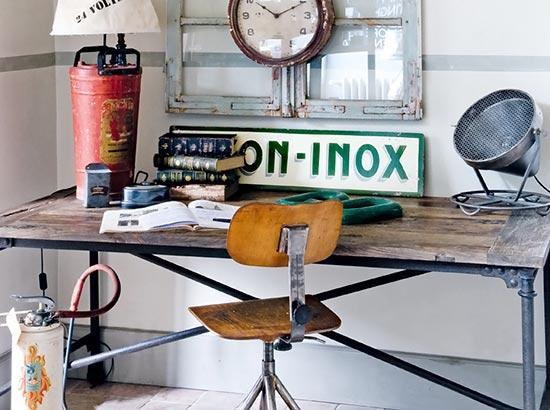 Estilo industrial, como fazer móveis com canos de ferro