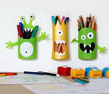Suporte para canetas, lápis e pincéis